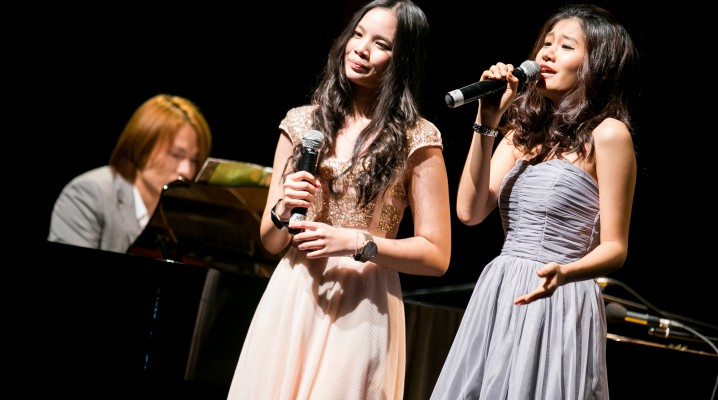 """From the Grammy Vocal Studio Concert. We performed """"For good"""" from Wicked the """"Glee' Version"""