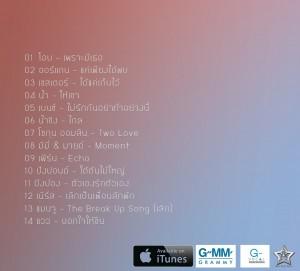 Playground by Jay Veerayano track listing